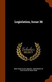 Legislation, Issue 36