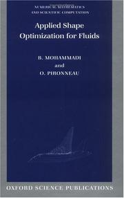 Applied Shape Optimization for Fluids (Numerical Mathematics and Scientific Computation) PDF