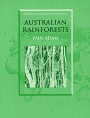 Cover of: Australian Rainforests