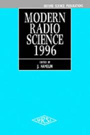 Modern Radio Science 1996 PDF
