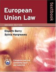 European Union law textbook PDF