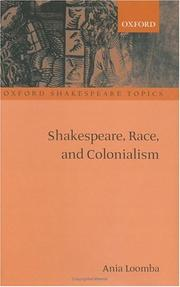 Shakespeare, race, and colonialism PDF