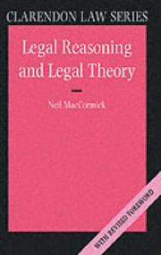 Legal Reasoning and Legal Theory (Clarendon Law Series) PDF