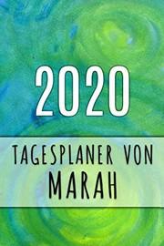 2020 Tagesplaner von Marah