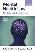Mental health law by Peter Bartlett
