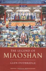 The legend of Miaoshan by Glen Dudbridge
