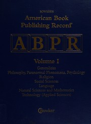 American Book Publishing Record Cumulative 1999