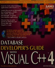 Database developers guide with Visual C[plus plus] 4