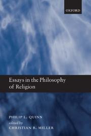 Essays in Philosophy of Religion PDF