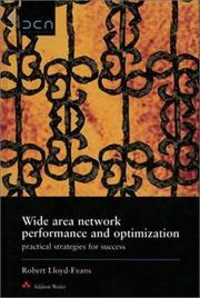Wide area network performance and optimization PDF