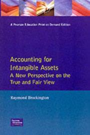 Accounting for Intangible Assets by Raymond Brockington