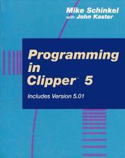 Programming in Clipper 5/Includes Version 5.01 PDF