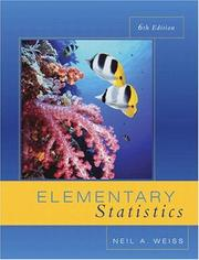 Introductory statistics by N. A. Weiss