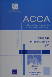 ACCA Study Texts (Acca Study Text)