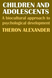 Children and adolescents by Theron Alexander