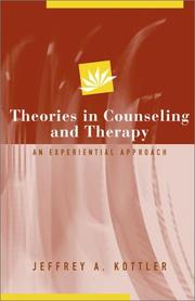 Theories in Counseling and Therapy PDF
