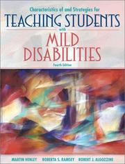 Characteristics of and strategies for teaching students with mild disabilities PDF