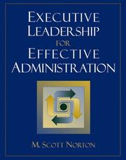 Executive Leadership for Effective Administration PDF