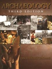 Archaeology by David Hurst Thomas