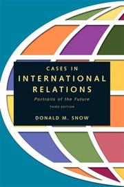 Cases in international relations PDF