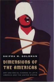 Dimensions of the Americas by Shifra M. Goldman