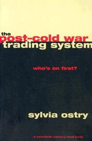The post-cold war trading system PDF