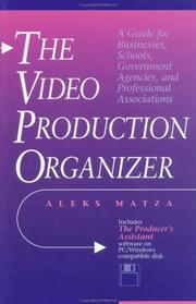 The video production organizer PDF