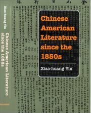 Chinese American literature since the 1850s PDF