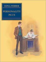 Personality Plus by Edna Ferber