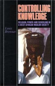 Controlling knowledge by Louis Brenner