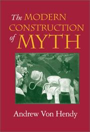 The Modern Construction of Myth PDF