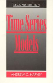 Time series models by A. C. Harvey