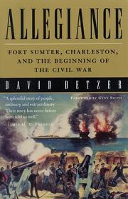Allegiance by David Detzer