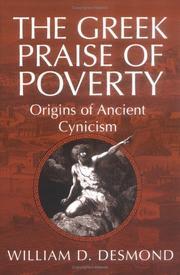 The Greek praise of poverty PDF