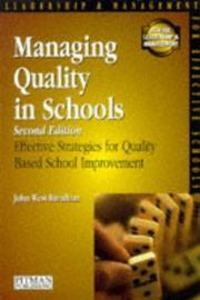 Managing Quality in Schools (SMS) PDF