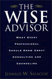 The wise advisor by Jeswald W. Salacuse