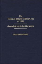 The Violence Against Women Act of 1994 PDF