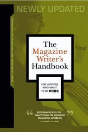 The magazine writer's handbook by Franklynn Peterson