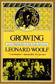 Growing by Leonard Woolf