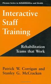 Interactive staff training by Patrick W. Corrigan