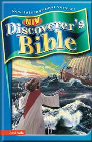 NIV Discoverer's Bible by Zondervan Publishing Company