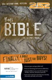 Boys Bible (NIV), The by Rick Osborne