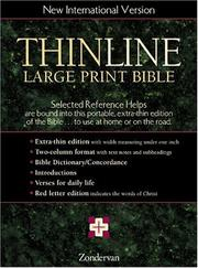 NIV Thinline Bible PDF
