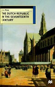 The Dutch republic in the seventeenth century PDF