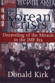 Korean crisis by Donald Kirk