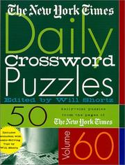 The New York Times Daily Crossword Puzzles, Volume 60 (New York Times Daily Crossword Puzzles) PDF