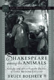 Shakespeare among the animals PDF