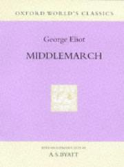 Cover of: Middlemarch by George Eliot