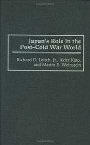 Japan's role in the post-Cold War world PDF
