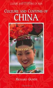 Culture and Customs of China PDF